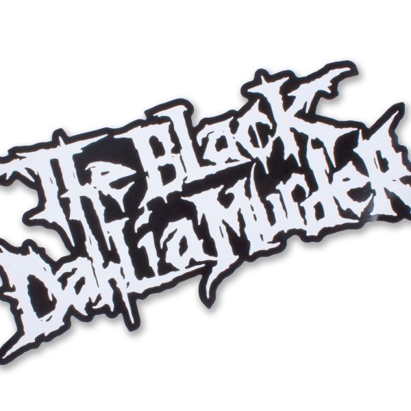 The Black Dahlia Murder Quot Giant Logo Quot Stickers Amp Decals