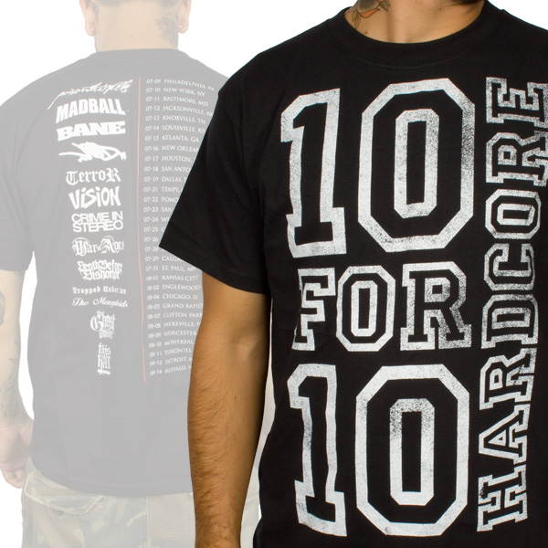 10 For $10 HardCore Youth Crew Shirt