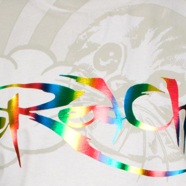 The Red Chord $Logo Foil$ T-Shirt - IndieMerchstore