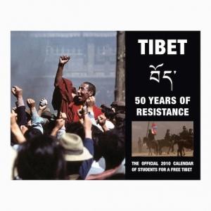 SFT 2010 Calendar - Tibet: 50 Years of Resistance