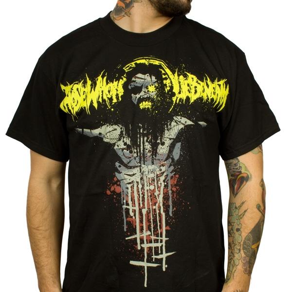 Those Who Lie Beneath Quot Evil Jesus Quot T Shirt Indiemerchstore