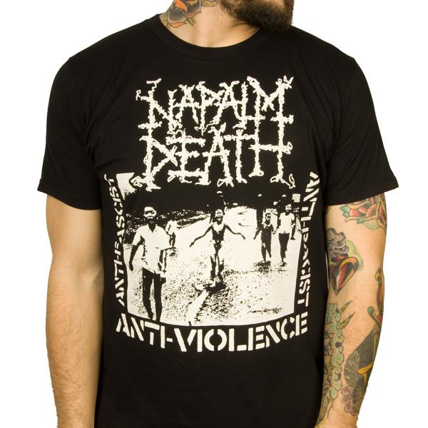 Napalm Death Quot Curse Quot T Shirt Indiemerchstore