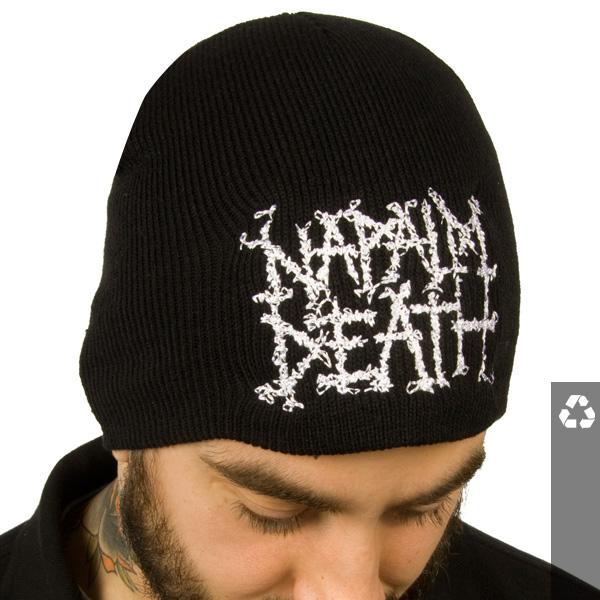 Napalm Death Quot Logo Quot Beanies Napalm Death