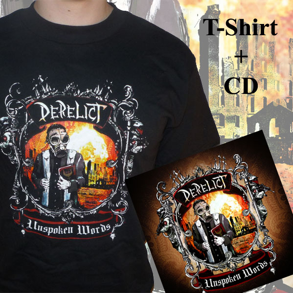 Unspoken Words CD + T-Shirt
