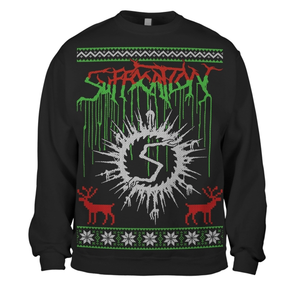 Suffocation Holiday Sweater