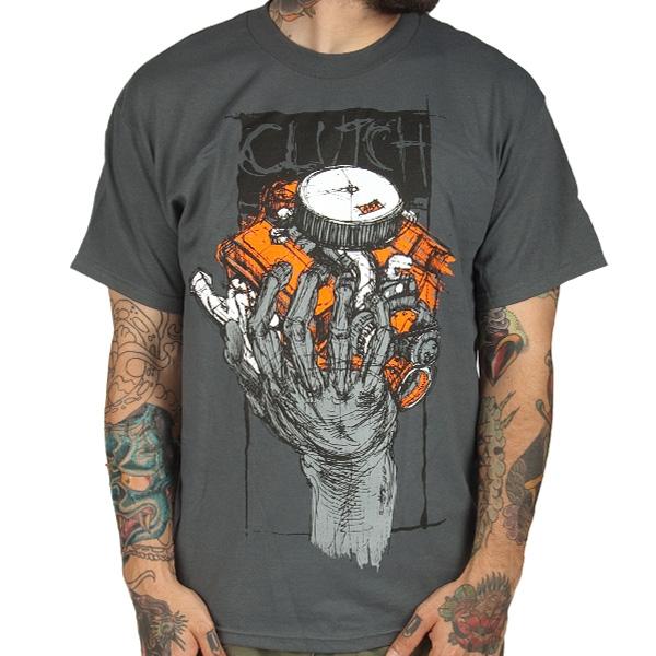 clutch t shirt