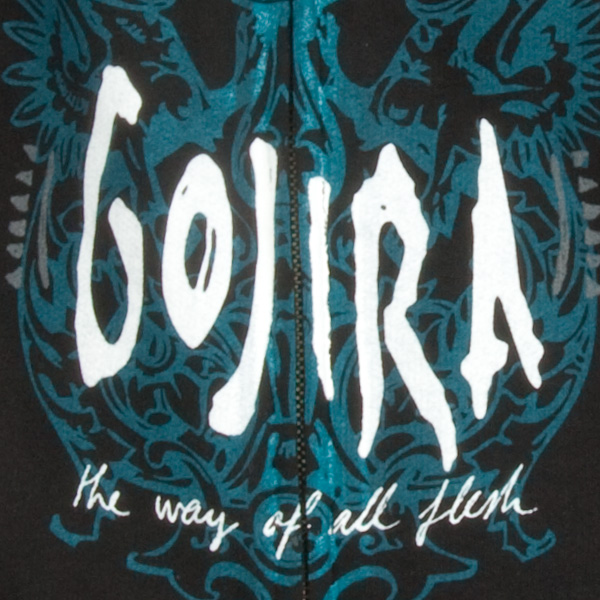 Gojira Quot The Way Of All Flesh Quot Zip Hoodie Indiemerchstore