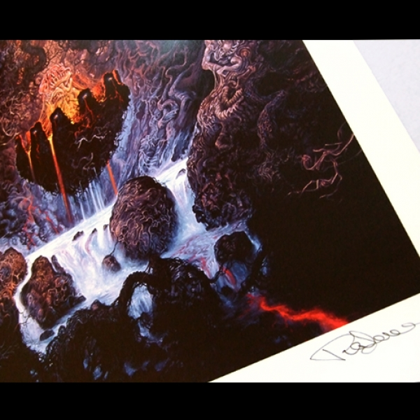 Limited Edition Print. Entombed (Clandestine)