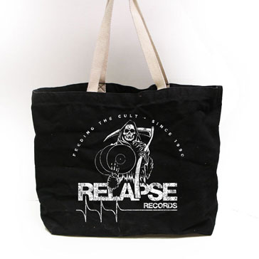 Relapse Records Tote Bag