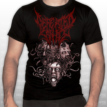 Defeated Sanity Quot Consumed By Repugnance Quot T Shirt Relapse