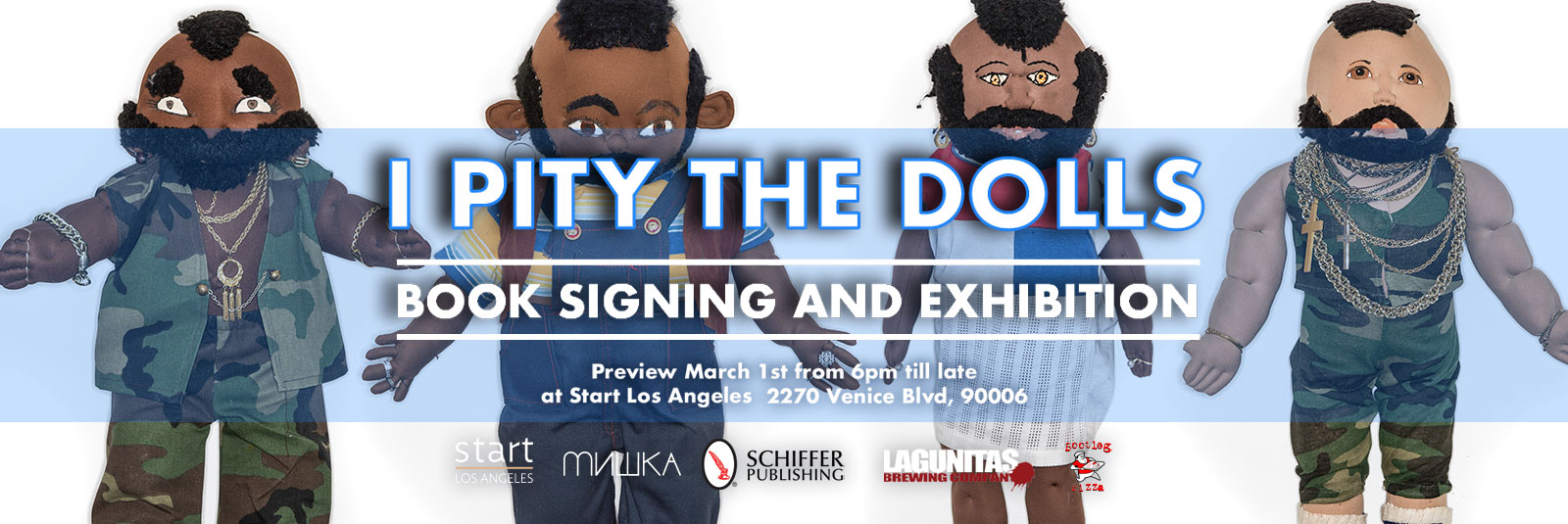 I Pity The Fool Book Signing Promotion