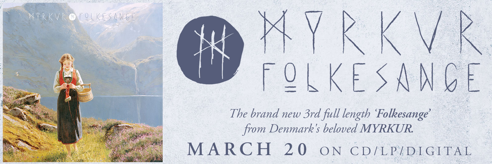 Myrkur-Folkesange-Folk-Danish-Traditional-World-Music-Relapse-March-20