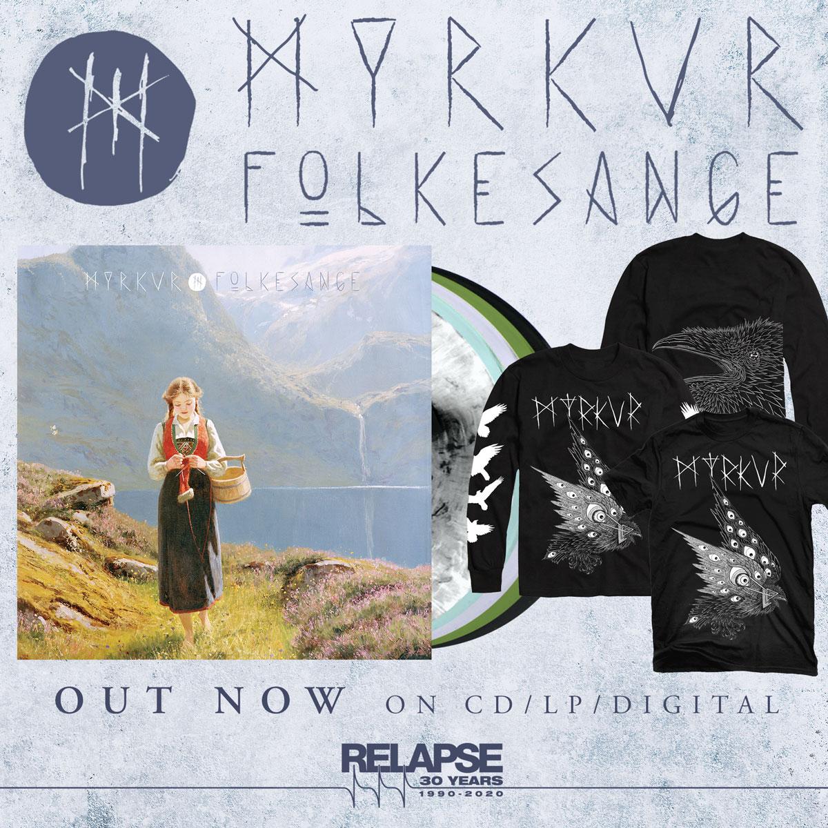 Myrkur-Folkesange-Folk-Nordic-Traditional-Music-Relapse