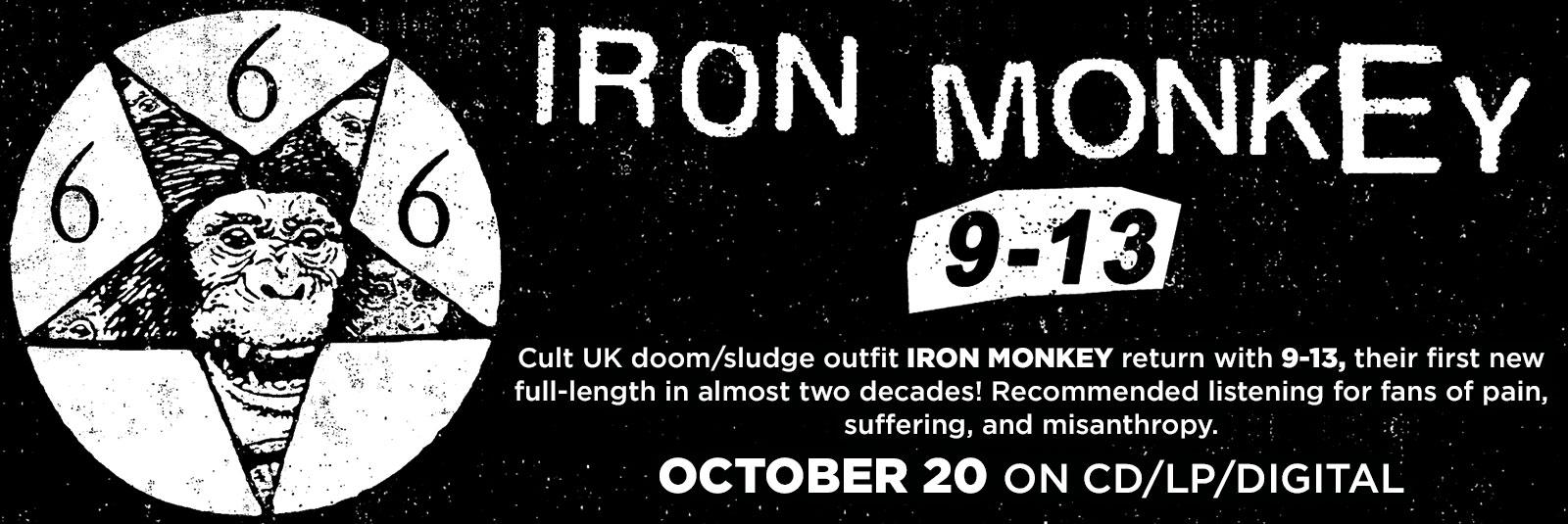 iron monkey 9-13