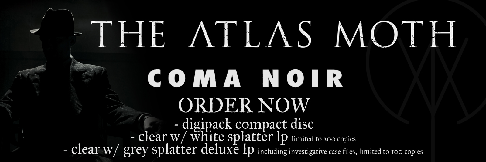 The Atlas Moth - Coma Noir out Feb. 9th 2018