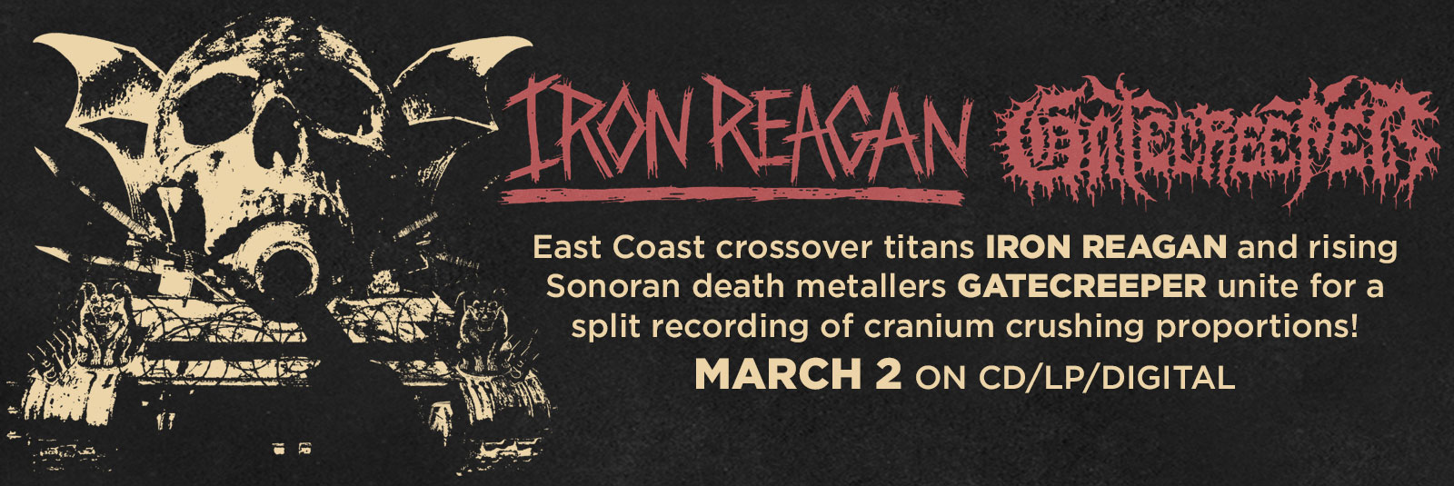 iron-reagan-gatecreeper-split