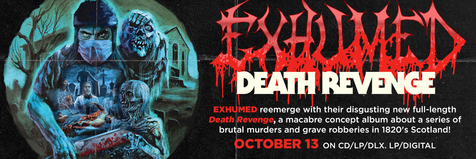 exhumed-death-revenge-relapse-records