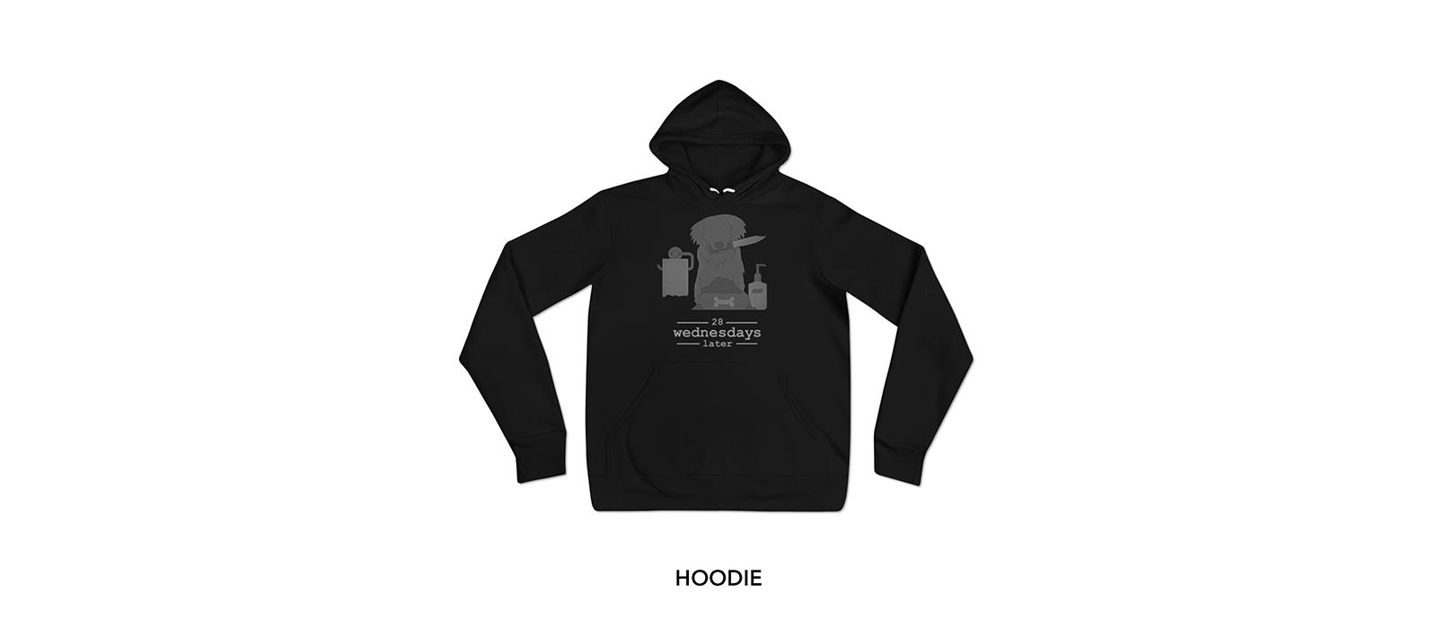 28 Wednesdays Later Hoodie II