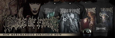 Cradle Of Filth - New Merchandise Available Now