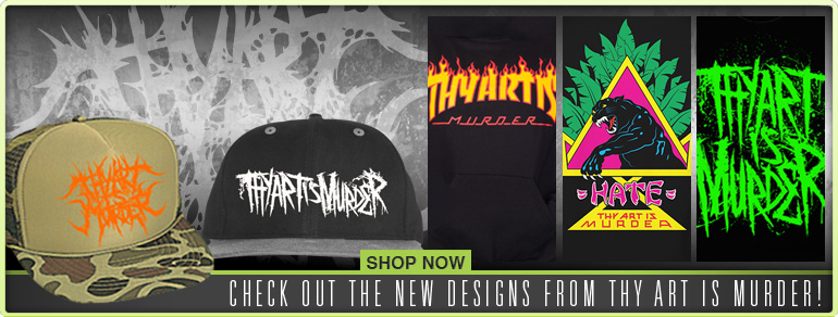 Thy Art Is Murder New Merch