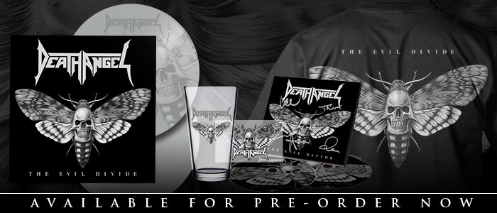 Death Angel - The Evil Divide Pre-order