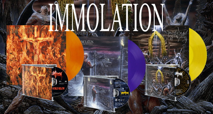 Immolation Vinyl Pre-Orders