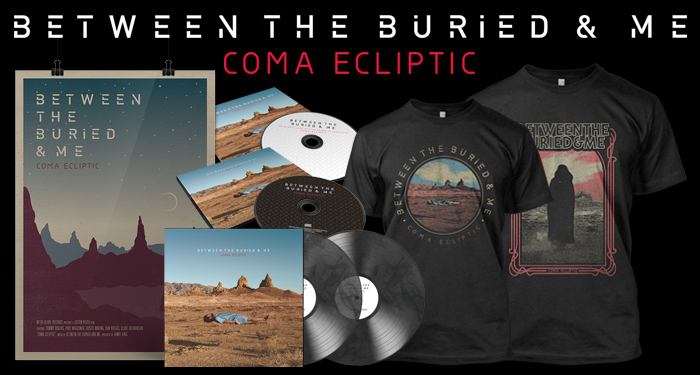 Between the Buried and Me 'Coma Ecliptic'