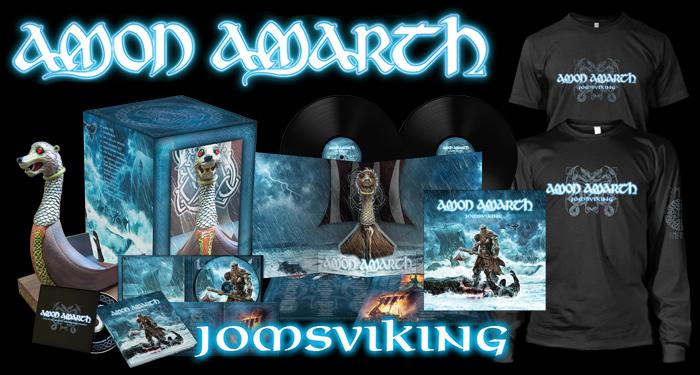 Amon Amarth 'Jomsviking' Pre-Order