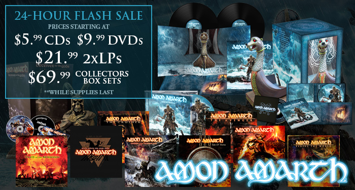 Amon Amarth Flash Sale