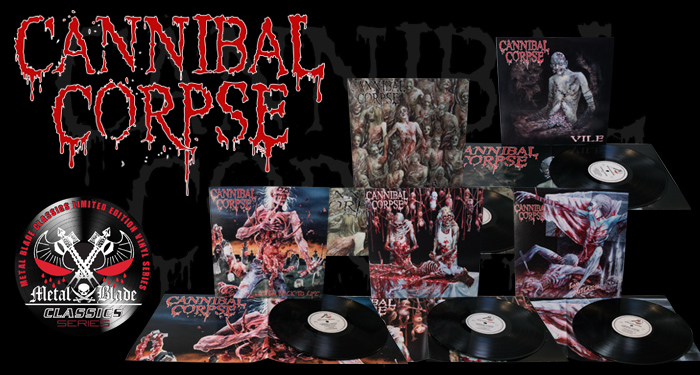 Cannibal Corpse LPs