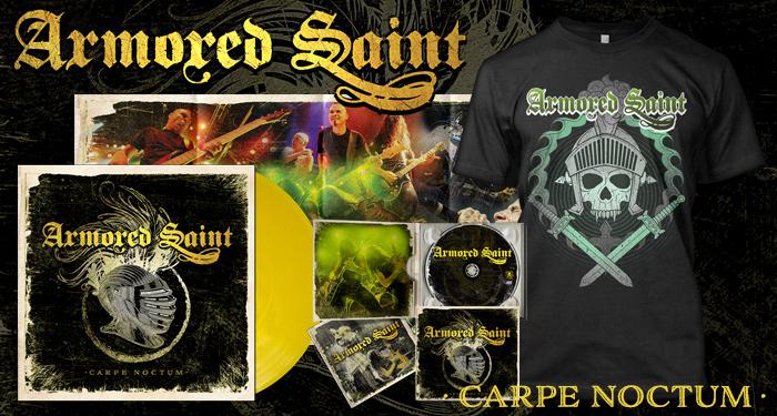 Armored Saint 'Carpe Noctum' Pre-Orders