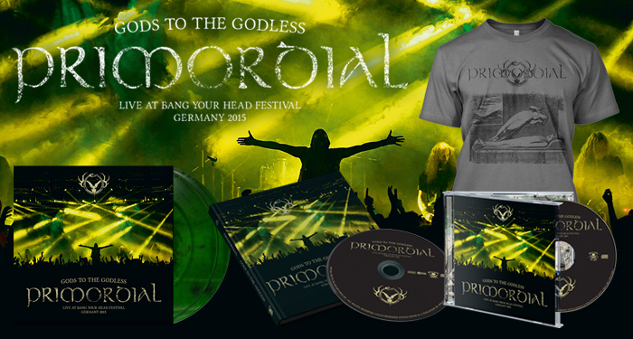 Primordial 'Gods to the Godless' Pre-Orders