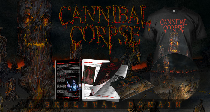 Cannibal Corpse 'A Skeletal Domain'