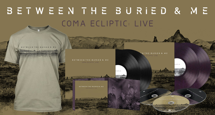 Between the Buried and Me 'Coma Ecliptic: Live'