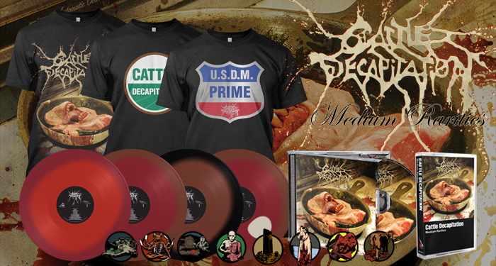 Cattle Decapitation 'Medium Rarities'