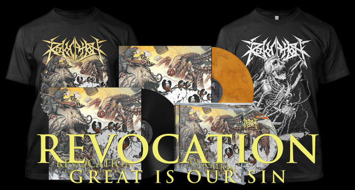Revocation 'Great Is Our Sin' Pre-Order