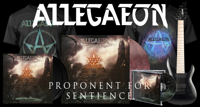 "Allegaeon ""Proponent for Sentience"" Pre-Orders"