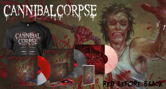Cannibal Corpse 'Red Before Black'