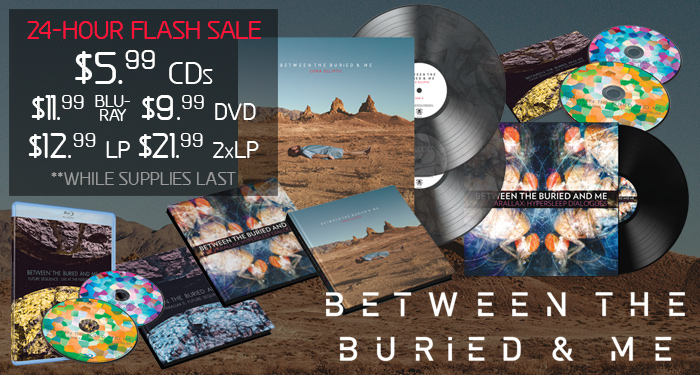 Between the Buried and Me Flash Sale