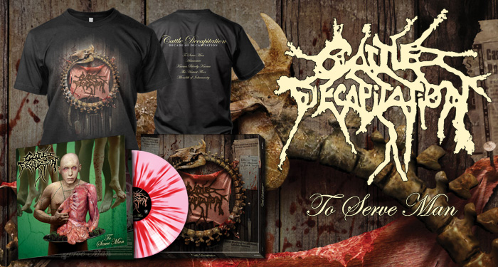 Cattle Decapitation 'To Serve Man' LP