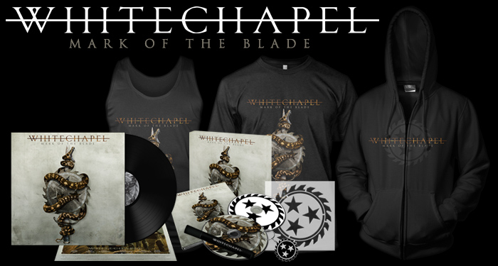 Whitechapel 'Mark of the Blade' Pre-Orders