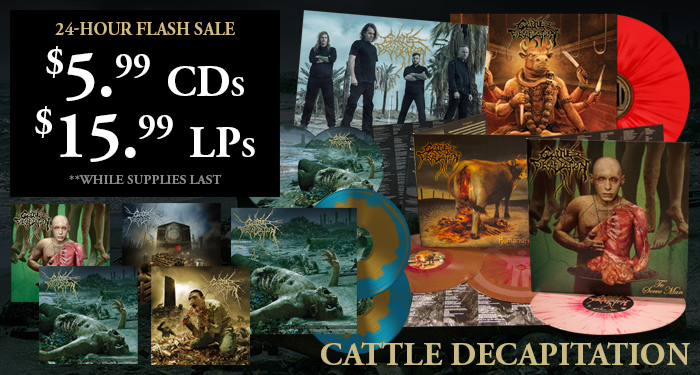 Cattle Decapitation Flash Sale