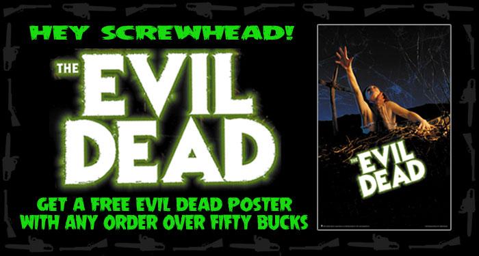 Free Evil Dead Poster