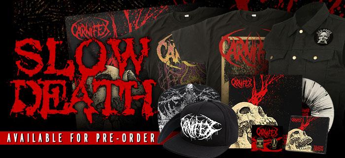 Pre-Order Carnifex - Slow Death