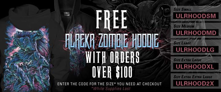 free hoodie over $100