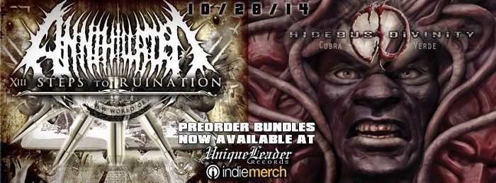 "Hideous Divinity ""Cobra Verde"" & Annihilated ""XIII Steps to Ruination"" 10/28/2014"