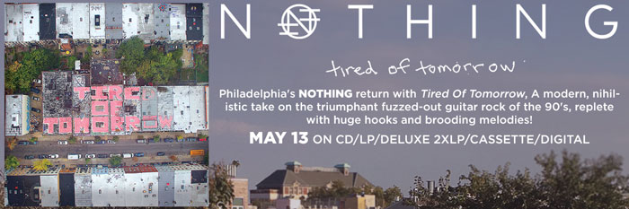 NOTHING - Tired of Tomorrow