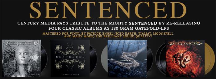 Sentenced - Vinyl Reissues