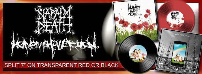 Heaven Shall Burn / Napalm Death - The Mission Creep