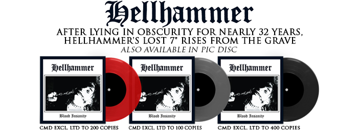 Hellhammer - Blood Insanity 7""